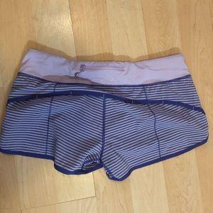 Lululemon striped shorts